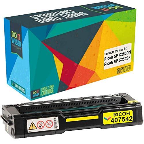 chip for Ricoh Aficio SP C250SF C250DN SPC250SF SPC250DN printer TM-toner 407539 Black toner refill kit