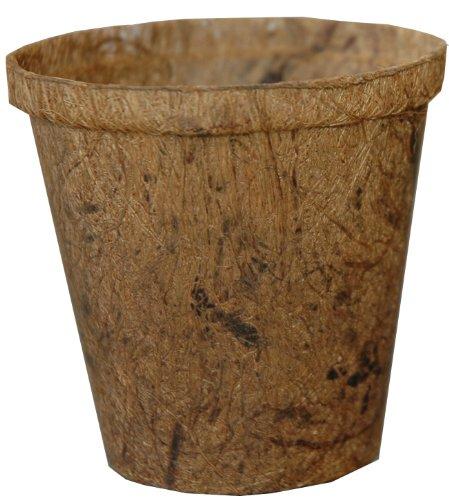 Akro Mils CRN08000COC Coir Nursery Pot, 8-Inch