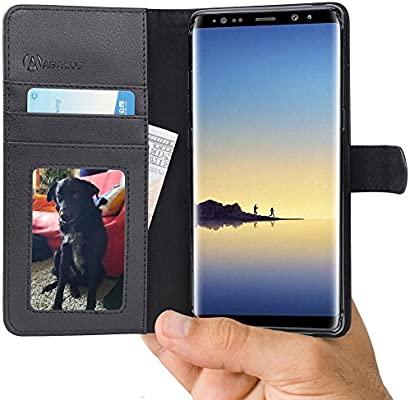 Abacus24-7 Funda Samsung Galaxy Note 8 Billetera, Flip Case ...