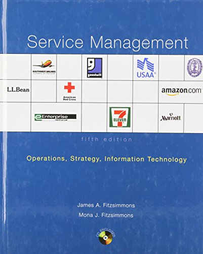 Service Management (Irwin/Mcgraw-Hill Series in...
