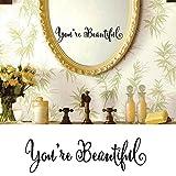 You're Beautiful Wall Vinyl Decal Waterproof Inspirational - Best Reviews Guide