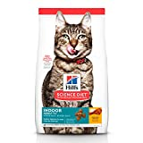 Hill's Science Diet, Alimento para Gato Adulto 7+ años Indoor, Seco (bulto) 3.2kg