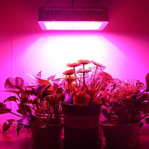 HIGROW 600W Double Chips LED Grow Light Full Spectrum Grow Lamp with...