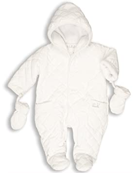 86056ad88d09 The Essential One -Quilted Baby Snowsuit EO2-9-12 Months  Amazon.co ...