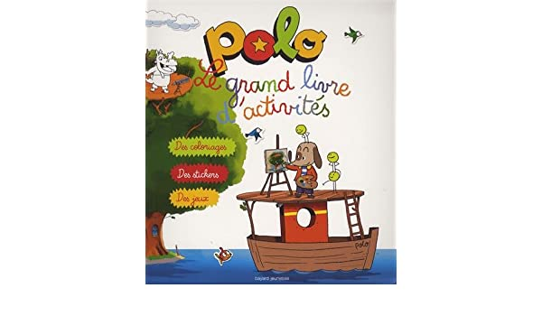 Le grand cahier dactivités Polo (Mini BD Kids Polo): Amazon.es ...