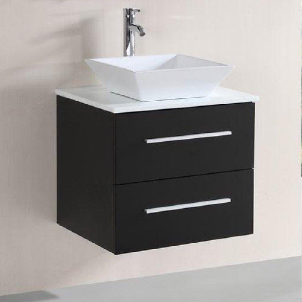 floating sink. Black Bedroom Furniture Sets. Home Design Ideas