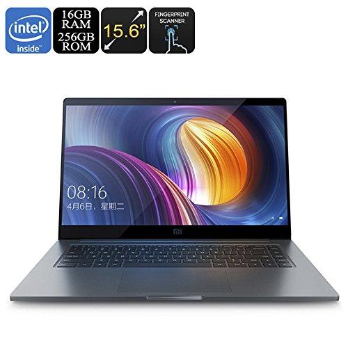 Price comparison product image Xiaomi Mi Notebook Pro - Intel Core i7 CPU, 16GB DDR4 RAM, 256GB Storage, GeForce GPU, 15.6 Inch Screen, Fingerprint Scanner