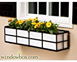 60 Inch Simple Elegance Window Box Cage with White PVC Liner Review