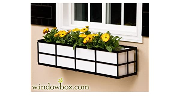Amazon Com 48 Inch Simple Elegance Window Box Cage With White Pvc