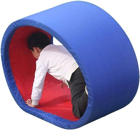 Juegos de exterior Equipo de entrenamiento sensorial rueda de jardín de infantes anillo de rastreo de