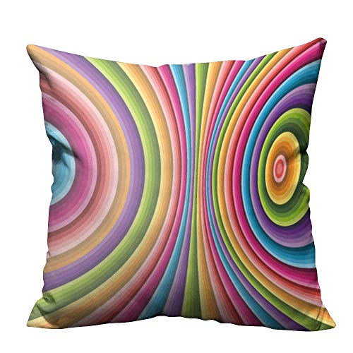 YouXianHome Zippered Pillow Covers Abstract Background Vector Can be Used for Wallpaper,Web Page Background,Web Banners Decorative Couch(Double-Sided Printing) 16x16 inch ()
