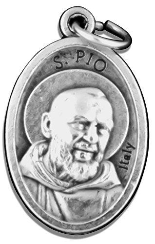 Catholic Saint Medals - Pack of 5 (Padre Pio)