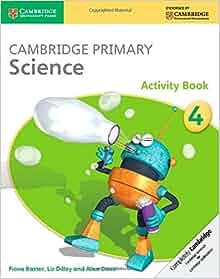 Cambridge primary science activity book