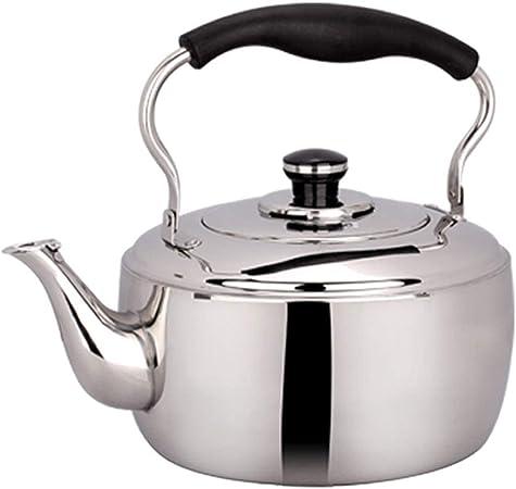 5L Bollitore in acciaio inox fischiettare cucina STOVE Top//Induzione//Gas Elettrico