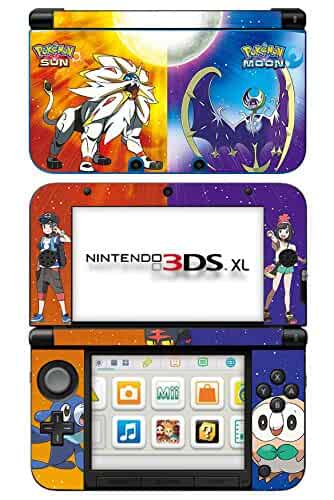 Nintendo 3ds Xl Games : Amazon skinhub pokemon sun and moon game skin for