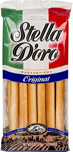 Stella D'oro Original Breadsticks, 6 Ounce (Pack of 12) by Stella D'oro