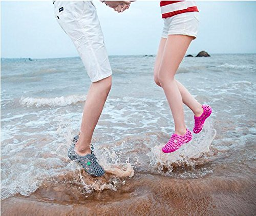 Coppia Respeedime Antiscivolo Pantofole Scarpe Traspirante Summer Sandali Grigio Spiaggia Women Da SIqYOrwIx