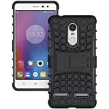 Shoppers Point Power Defender, Stylish, Armour 360 Protector, Shockproof, TPU Back Case Cover with Hybrid Kickstand for Lenovo K6