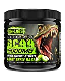 Ultimate BCAA 5000mg Complex 2-1-1 Ratio - Huge 50 Serving Tub - Branched Chain Amino Acids For Muscle Growth, Post-Workout Recovery, and Bodybuilding (Candy Apple Rage)
