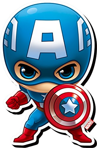 Aquarius Avengers Captain America Chibi Funky Chunky Magnet (Nmr Distribution America)