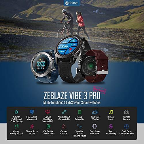 GTFHUH Zeblaze Vibe 3 Pro Inteligente Reloj de los Deportes de los ...