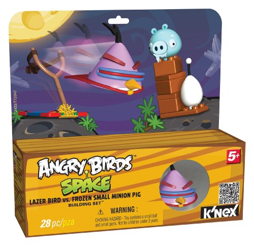 K'NEX Angry Birds Lazer Bird versus Frozen Pig Building Set, Baby & Kids Zone