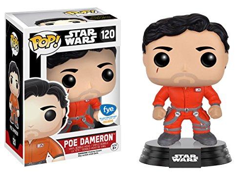 Funko Pop! Star Wars Poe Dameron Jumpsuit Exclusive With Sticker