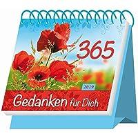 """Aufstellkalender """"365 Gedanken für Dich"""" 2019: Mit Sprüchen! Kalendarium"""