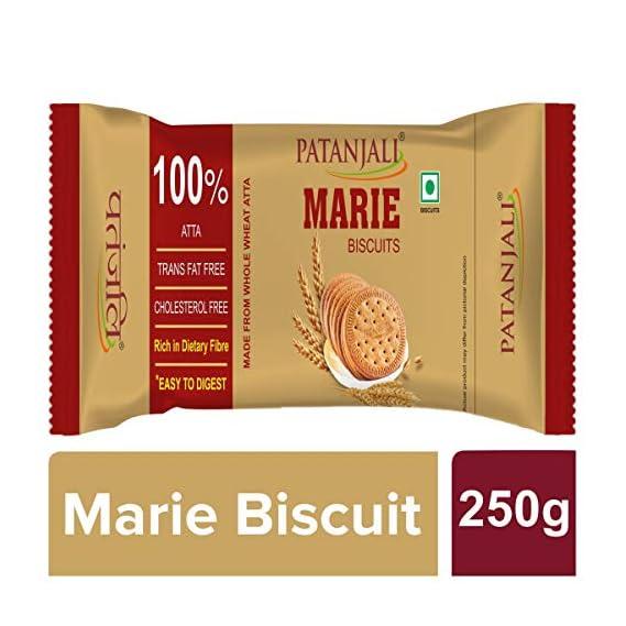 Patanjali Marie Biscuits 100% Atta 250g