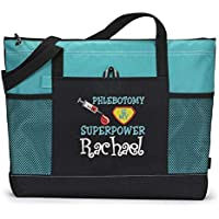 Phlebotomy is my Superpower Personalized Embroidered Tote
