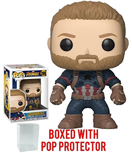 Funko Pop! Marvel: Avengers Infinity War - Captain America V