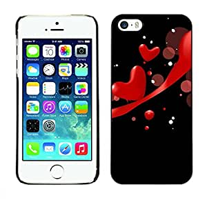 Exotic-Star ( Love Red ) Snap On Hard Protective Case For Apple iPhone 5 / 5S