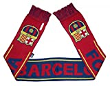 Barcelona FC Woven Team Scarf 2014-15 (Maroon/Navy/Yellow)