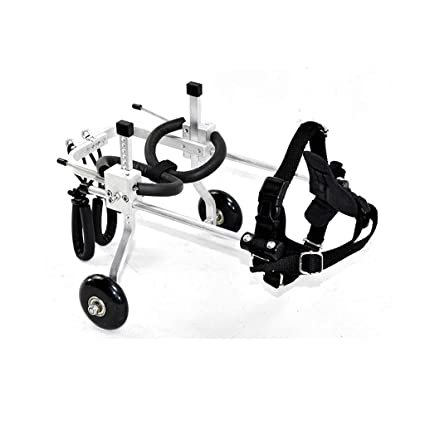 ZPWSNH Pet Moped Dog Wheelchair Elderly Hyena Scooter