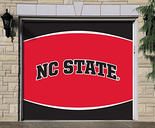 (Victory Corps 7' X 8' Single Garage Door Decor Banner Sign Mural North Carolina State)