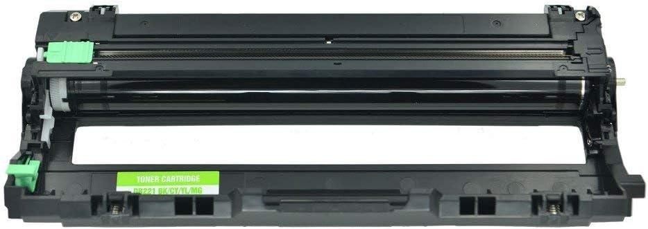 1 Black NineLeaf Compatible Drum Unit Replacement for Brother DR221 DR-221 DR221BK MFC-9130CW HL-3170CDW HL-3140CW MFC-9330CDW Color Laser Printer