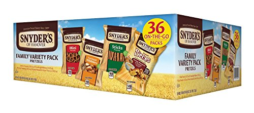 Snyders of Hanover Pretzel Variety Pack