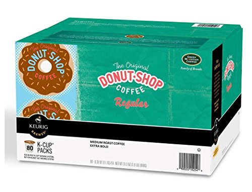 Green Mountain Coffee The Orginal Donut Shop Extremely Bold Coffee K-cup Packs - 80 Ct.