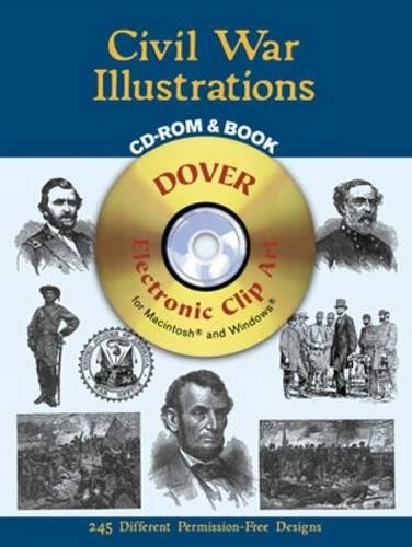 Civil War Illustrations CD-ROM and Book (Dover