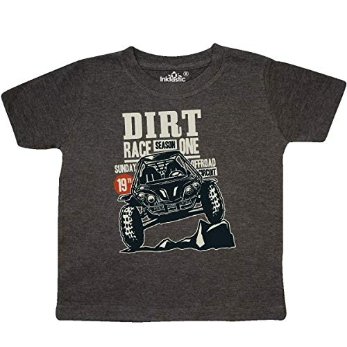 inktastic Buggy Racing Toddler T-Shirt 2T Retro Heather Smoke