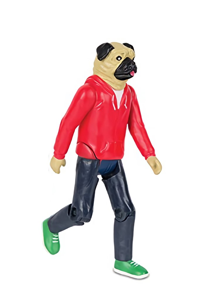 Accoutrements Strange Friends Roscoe Pug