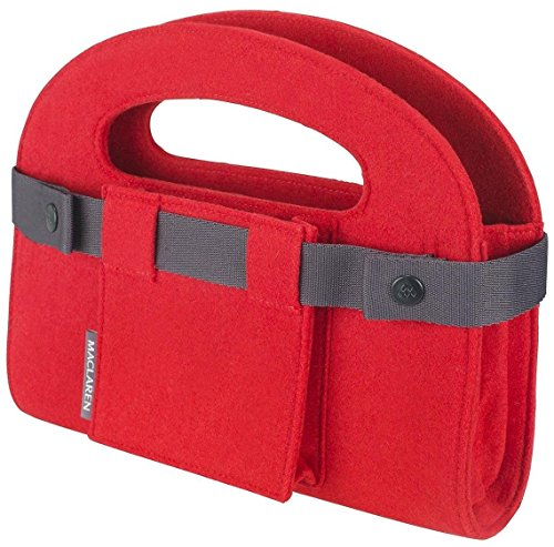 Maclaren Mini Utility Tote, Scarlet Felt (Discontinued by Manufacturer)