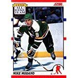 Mike Modano Hockey Card 1990-91 Score Canadian #327 Mike Modano