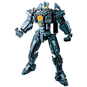 Yyz Cool Pacific Mech Avenger Wanderer Building Block Puzzle Assembling Toy Interactive Toy Birthday Gift