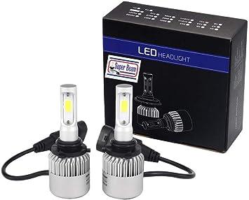 SuperBeam S2-9006 LED Headlight Bulbs 8000 Lumens 6500K Cool White