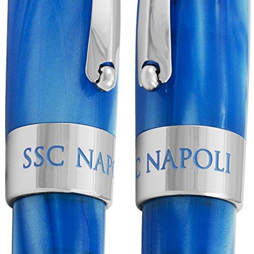 Montegrappa Fortuna Special Edition Società Sportiva Calcio Napoli Blue Ballpoint Pen ISFONBPC by Montegrappa (Image #3)