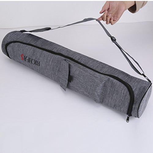 "RICHERS Exercise Yoga Mat Bag Multi Functional W/Storage Pocket 28"""