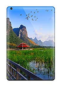 New Design Style Shatterproof WbaWYMj9195qFZae Case For Ipad Mini/mini 2 (lake Bridge Thailand Holiday Wallpapers )
