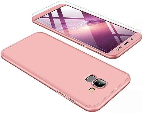 Funda Samsung Galaxy J6 2018 Ttimao PC Hard Case [Película de ...