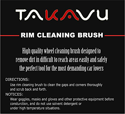 Master Wheel Brush Easy Reach Wheel And RIM Detailing Brush 17 Long Soft Bristle By TAKAVU Car Wheel Brush Rim Tire Detail BrushMultipurpose Use For WheelsRimsExhaust TipsMotorcyclesBicycles